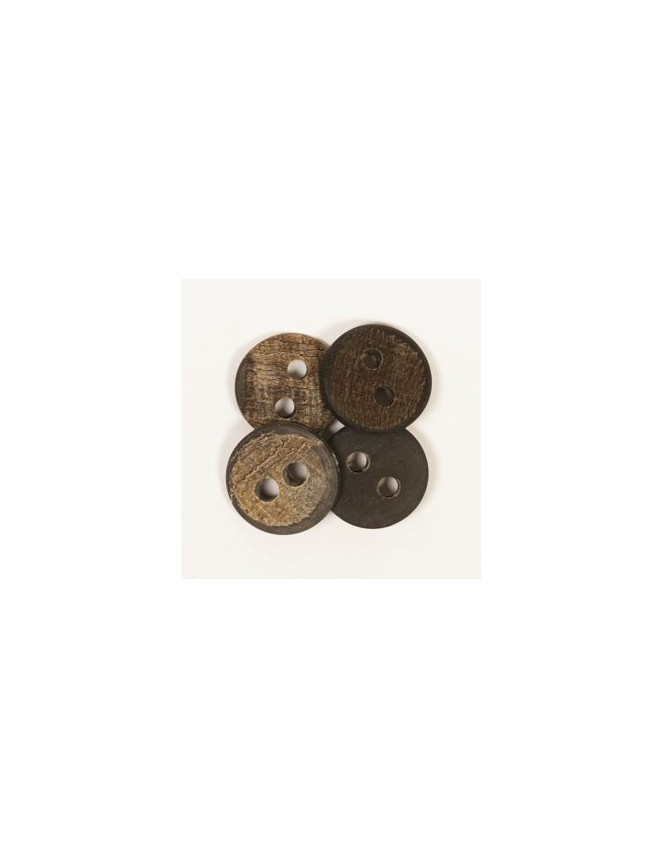 Drops 20mm Buffalo Horn Button