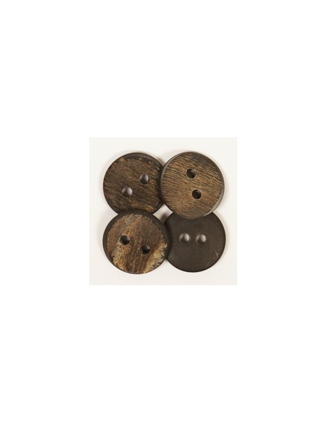 Drops 25mm Buffalo Horn Button