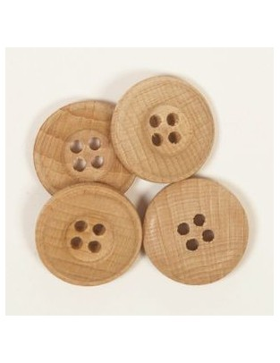 Drops 20mm Wooden Button