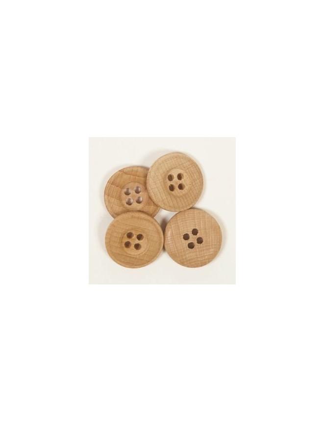 Drops 20mm Wooden Button