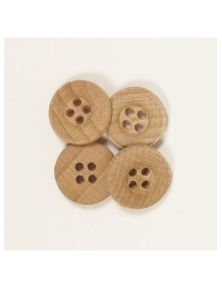 Drops 15mm Wooden Button