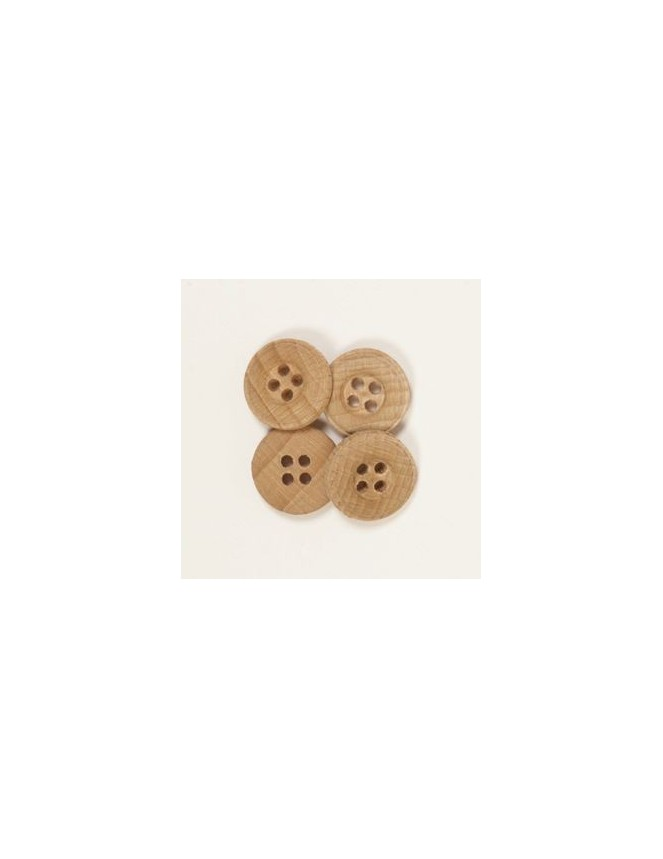 Drops 15mm Wooden Button