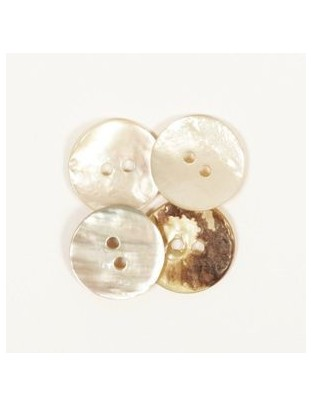Drops 15mm Nacre Button