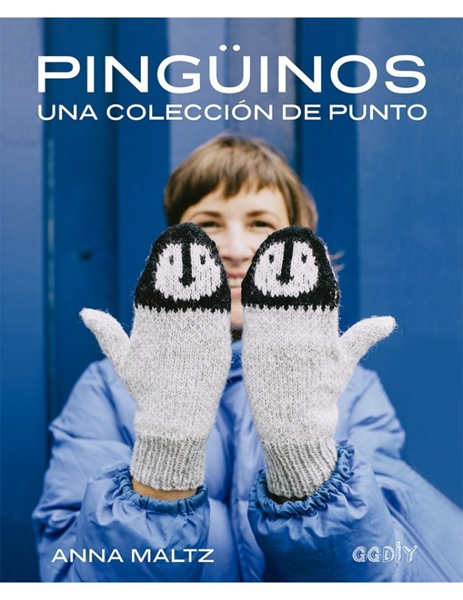 Pingüinos una colección de punto de Anna Maltz