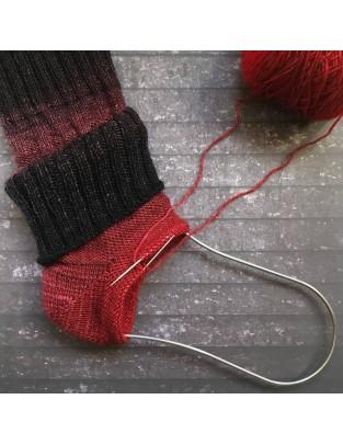 18 enero Taller de calcetines 2 en 1