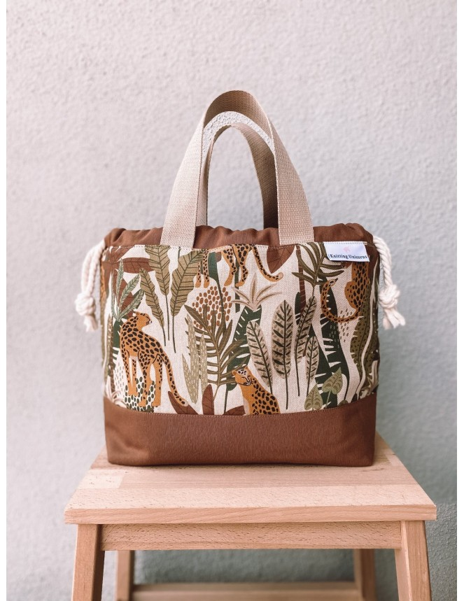 Knitting Unicorns Carry Bag
