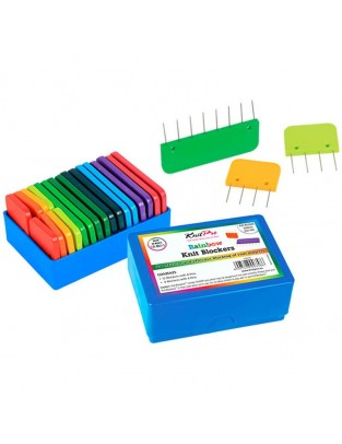 Knitpro Bloqueadores Rainbow