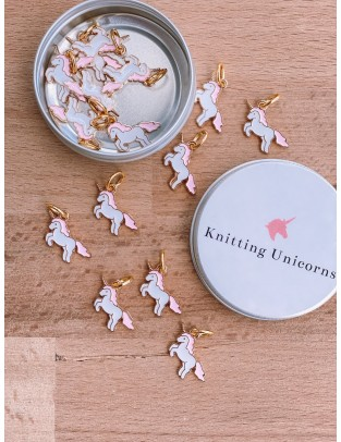 Knitting Unicorns Markers