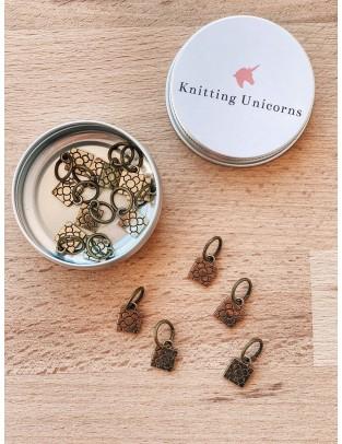 Knitting Unicorns Barcelona stitch markers