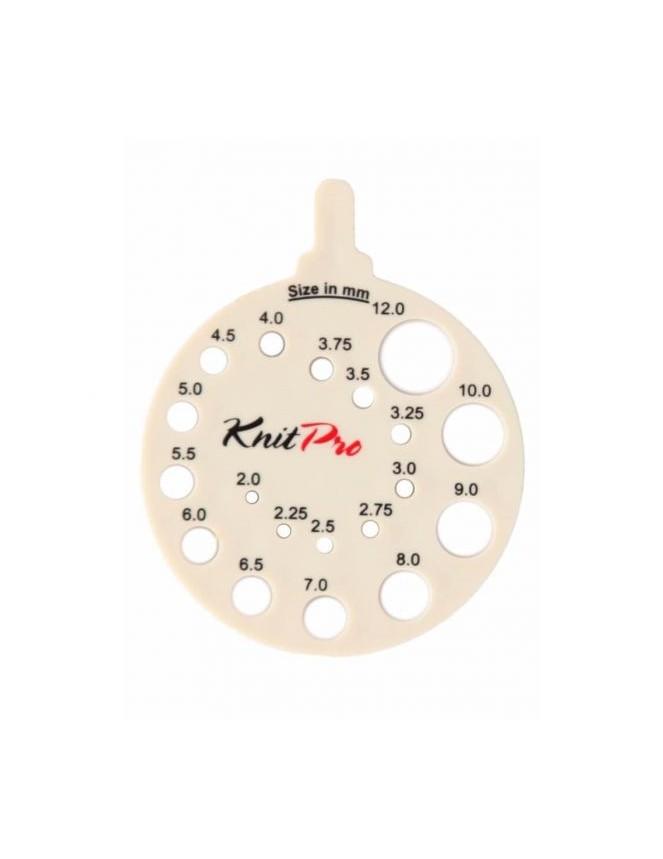 Knitpro Needle Size Gauge