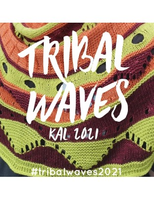 Kal Tribal Waves Silky Lace 1