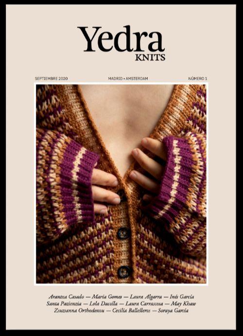 Portada del número 1 de la revista Yedra